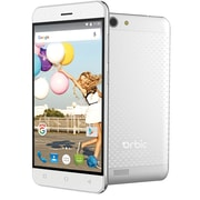 "Orbic Slim Unlocked 5"" 4G LTE Android Smartphone -- Silver"