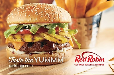 Red Robin Gift Card $25 (Email Delivery)