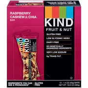 KIND Raspberry Cashew and Chia Bar, 12/Box