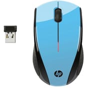 HP X3000 Wireless Mouse, Blue (K5D27AA#ABL)