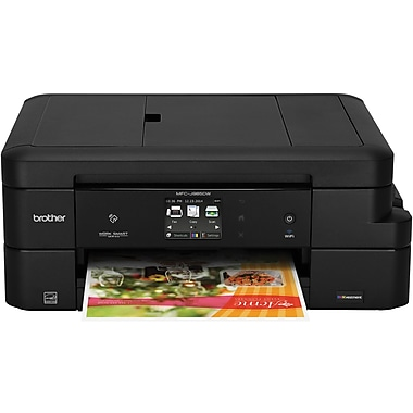 Brother MFC-J985DW Work Smart All-in-One Inkjet Printer with INKvestment Cartridges