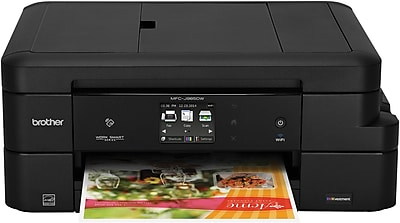 Brother Work Smart™ MFCJ985DW Wireless Multifunction Color Inkjet Printer with INKvestment Cartridges