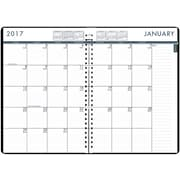 2017 House of Doolittle 7 x 10 Daily/Monthly 24-7 Planner Black (HOD289632)