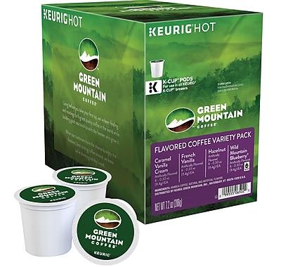 Keurig® K-Cup® Green Mountain Coffee® Flavored Coffee Variety Pack, 22 Count