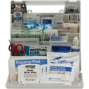 First Aid Only™ Plastic Bulk First Aid Kit, ANSI A+, 50 Person, 183 Pieces (90639)