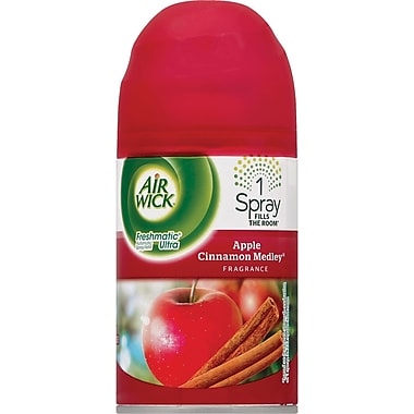 Air Wick® Freshmatic® Ultra Air Freshener, Apple, Refill, 6.17 oz.