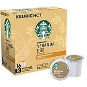 Starbucks® Blonde Veranda Blend Coffee K-Cup® Pods, 16/Bx