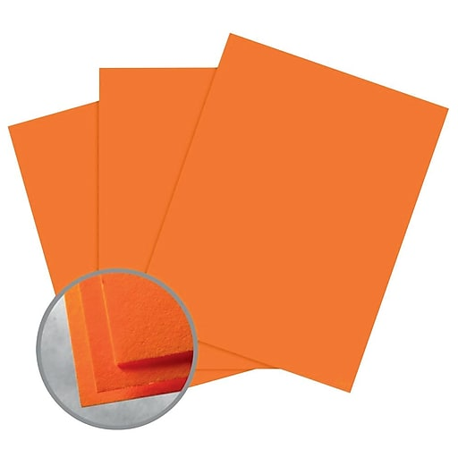 """Astrobrights Smooth Color Paper, 8.5"""" x 11"""", 60# Text, Cosmic Orange, 5000/CA"""