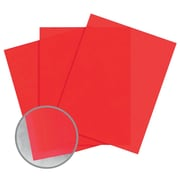 """Glama Natural Colors Paper, 8.5"""" x 11"""", 27#, Red Translucent, 2500/Pack"""