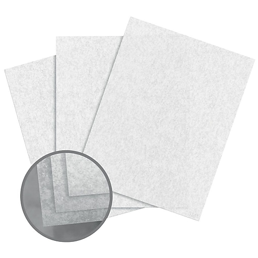 """Glama Natural Paper, 8.5"""" x 11"""", 29#, Parchment White, 2500/Pack"""