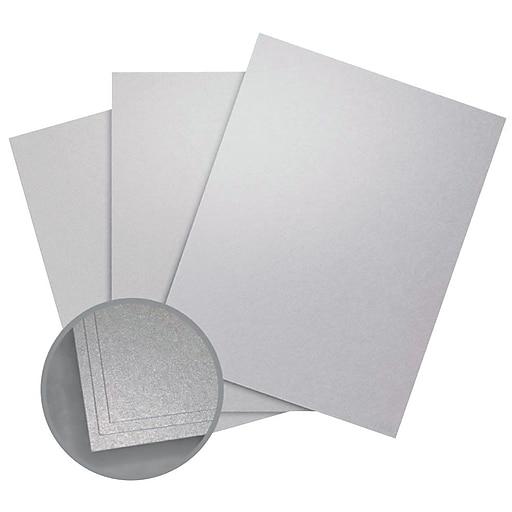 """Aspire Petallics Paper, 8.5"""" x 11"""", 98#, Silver Ore, 800 Sheets"""
