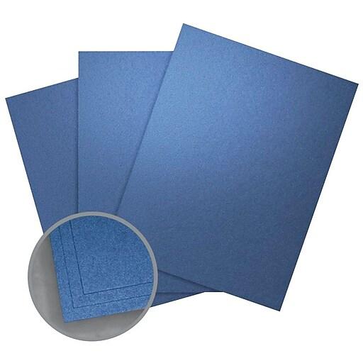 """Aspire Petallics Paper, 8.5"""" x 11"""", 105#, Blue Star, 800 Sheets"""