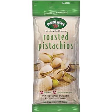 Second Nature Roasted Pistachios, 1.5 Oz., 12/Ct