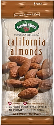 Second Nature Trail Mix California Almonds, 2.25 Oz., 12/Ct