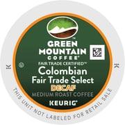 Keurig® K-Cup® Green Mountain® Colombian Fair Trade Coffee, Decaf, 18 Pack