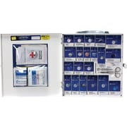 First Aid Only® 50 Person Large Metal SmartCompliance® First Aid Cabinet With Medication (746000)