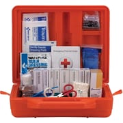 First Aid Only® 50 Person Weatherproof ANSI A+ Kit, Plastic, 215 Pieces
