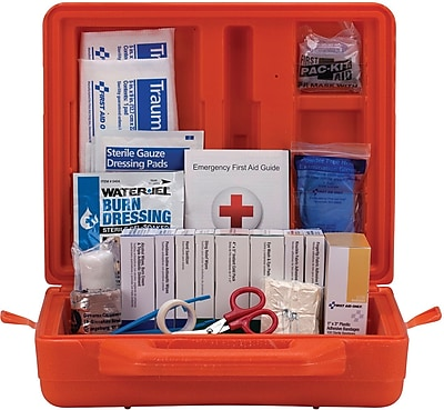 First Aid Only™ ANSI A+ Weatherproof Hard Plastic First Aid Kit for up to 50 People (90699)