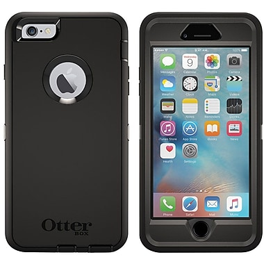 Otterbox Defender Series Case For Apple iPhone 6/6S Plus, Black