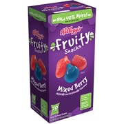 Kellogg's Mixed Berry Fruit Snacks, 70 Bags/Box