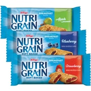Nutri-Grain Cereal Bars Apple Cinnamon, Blueberry, & Strawberry, 48/Case