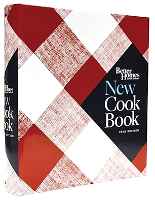 Better Homes and Gardens: New Cookbook - 16th Edition, Hardcover Ringbound (9780544307070)