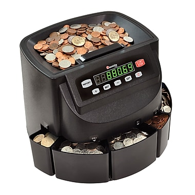 Cassida® C200 Coin Counter/Sorter/Wrapper