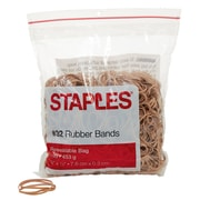 Staples® Economy Rubber Bands, Size #32, 1 lb.
