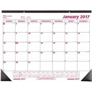 "2017 Brownline® 22"" x 17"" Monthly Desk Pad Calendar(C1731)"