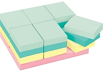 Post-it® Notes, 1 1/2' x 2', Marseille Collection, 24 Pads/Pack (653-24APVAD)