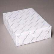 "Cranes® 90 lbs. Wove Cover, 8 1/2"" x 11"", Flourescent White, 125/Ream"