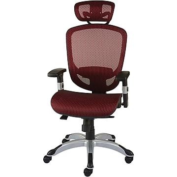 FlexFit™ Hyken Mesh Task Chair, Maroon (UN59462)