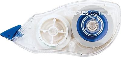 Staples Correction Tape, 10/Pack