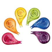 Staples® OOPS!™ Sidewinder Correction Tape, Assorted, 6/Pack
