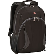 "Wenger Mercury 16"" Laptop Backpack, Black/Grey (601278)"