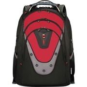 "SwissGear 17"" Laptop Backpack, Ibex Red/Black"