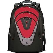 "Wenger 17"" Laptop Backpack, Ibex Red/Black (601280)"