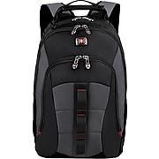 """SwissGear Skyscraper Black/Grey 16"""" Laptop Backpack (28038010)"""