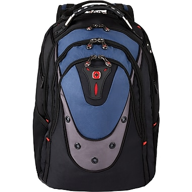 SwissGear® Ibex Blue/Black Laptop Backpack (GA-7316-06F00) | Staples®