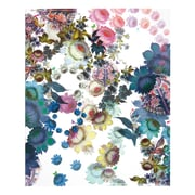 Cynthia Rowley, Two-Pocket Folder, Cosmic White Floral (29727)