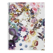 "Cynthia Rowley Notebook, College Ruled, Cosmic White Floral 8"" x 10.5"" (29899-US)"