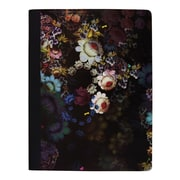 "Cynthia Rowley Composition Book, College Ruled, Cosmic Black Floral 9-3/4"" x 7-1/2"" (29898-US)"
