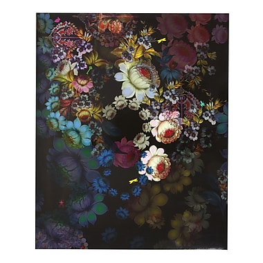 Cynthia Rowley, Two-Pocket Folder, Cosmic Black Floral (29728)