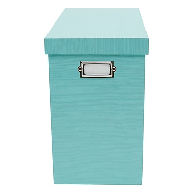 Office by Martha Stewart™ Stack+Fit™ File Box, Blue (29572)