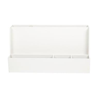 Office by Martha Stewart™ Stack+Fit™ Tech Organizer, White (29689)