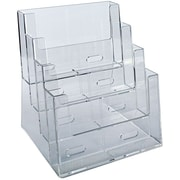 Four-Tier Four-Pocket Letter Sized Brochure Holder