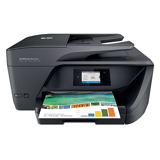 HP OfficeJet Pro 6968 Color Inkjet All-In-One Printer (T0F28A)