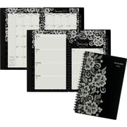 "AT-A-GLANCE® Weekly/Monthly Planner, 2017, 4 7/8"" x 8"", Lacey (141-200-17)"