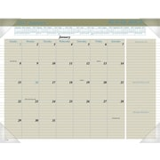 "AT-A-GLANCE® Executive Monthly Desk Pad, 2017, 21 5/8"" X 16 7/8"" (HT1500_17)"