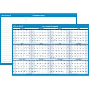 "AT-A-GLANCE® Horizontal Erasable Wall Calendar, 2017 12 Months, Reversible for Planning Space, 36"" x 24"" (PM200 28 17)"